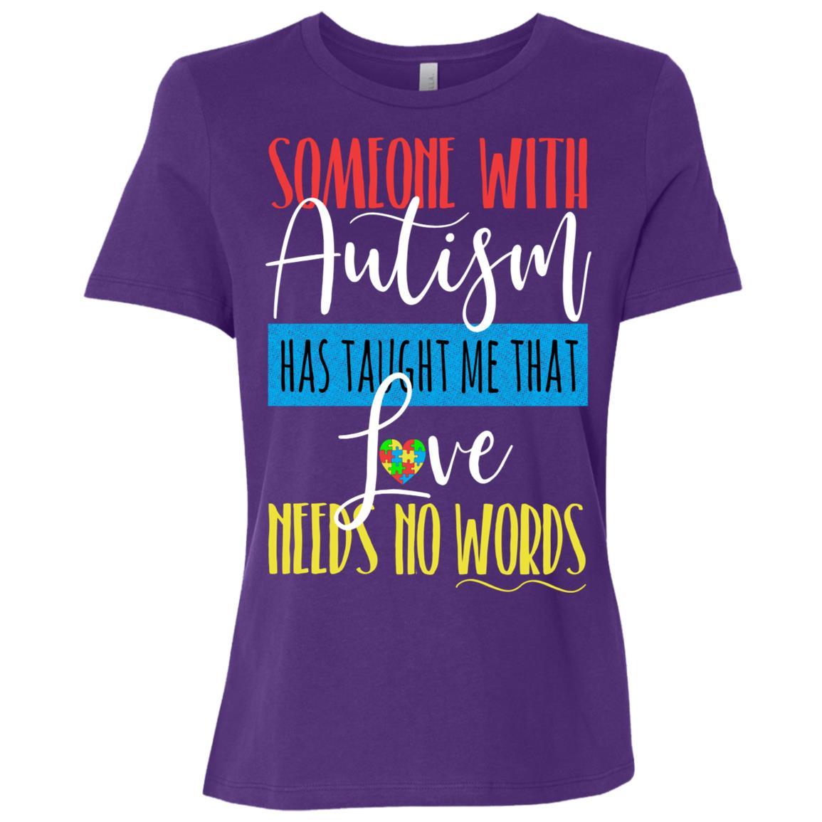 Autism Teacher Autism Mom Autism Awareness Women Short Sleeve T-Shirt