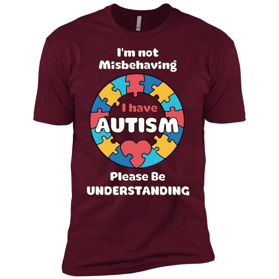 I'm Not Misbehaving I Have Autism Men Short Sleeve T-Shirt