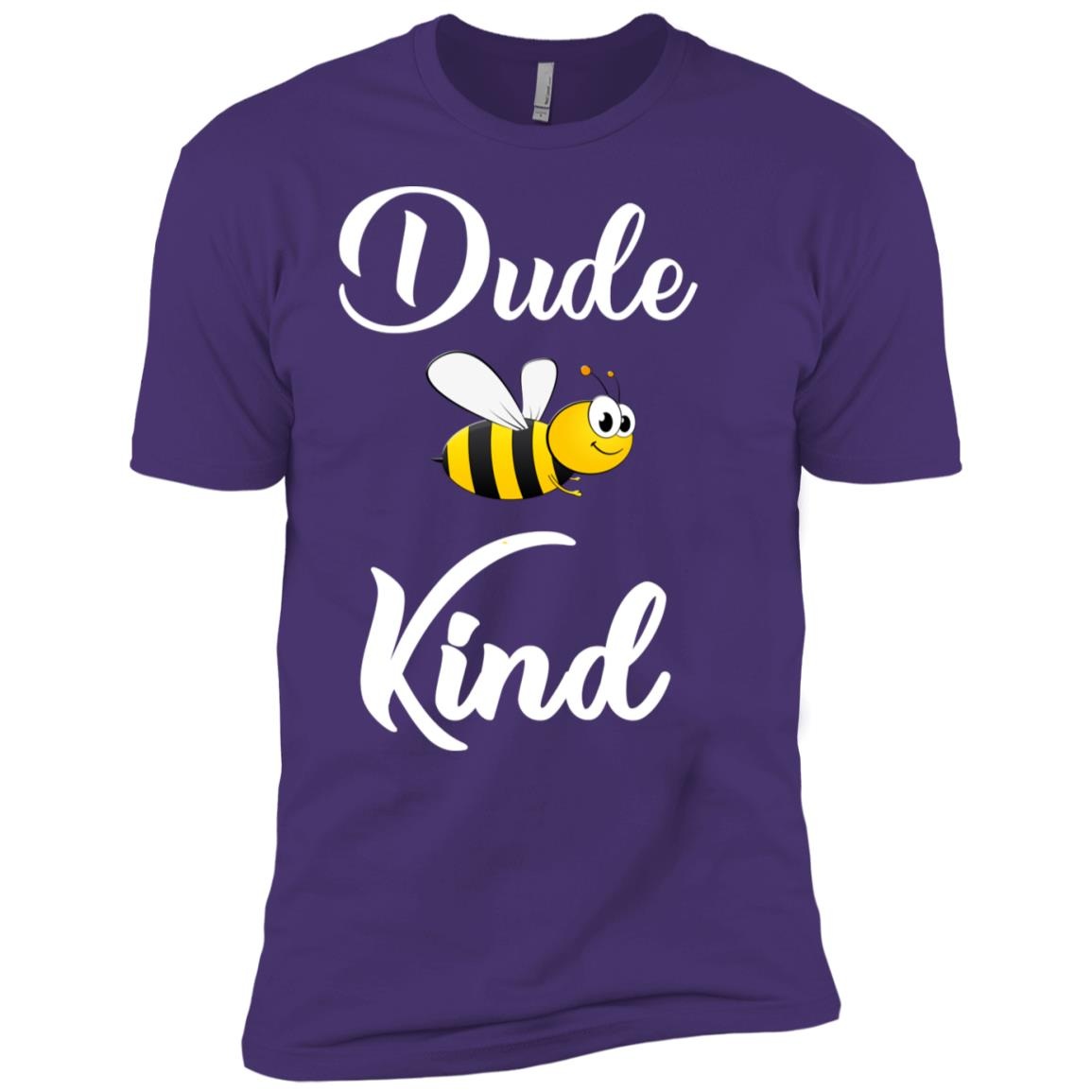 Dude be kind choose kindness anti bullying Long -1 Men Short Sleeve T-Shirt