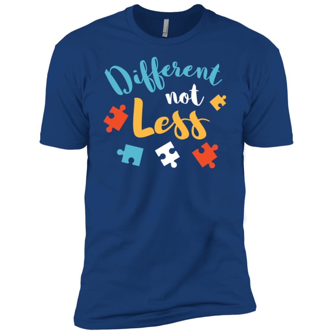 Different Not Less Autism Awareness Men Short Sleeve T-Shirt