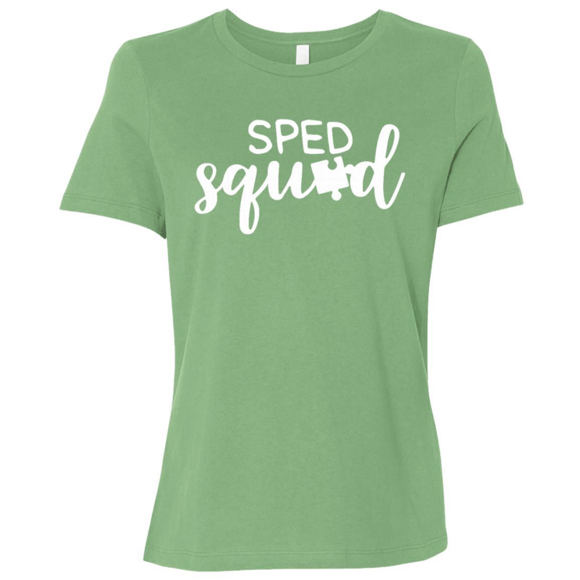 School Psychologist Gift Sped Squad Women Short Sleeve T-Shirt