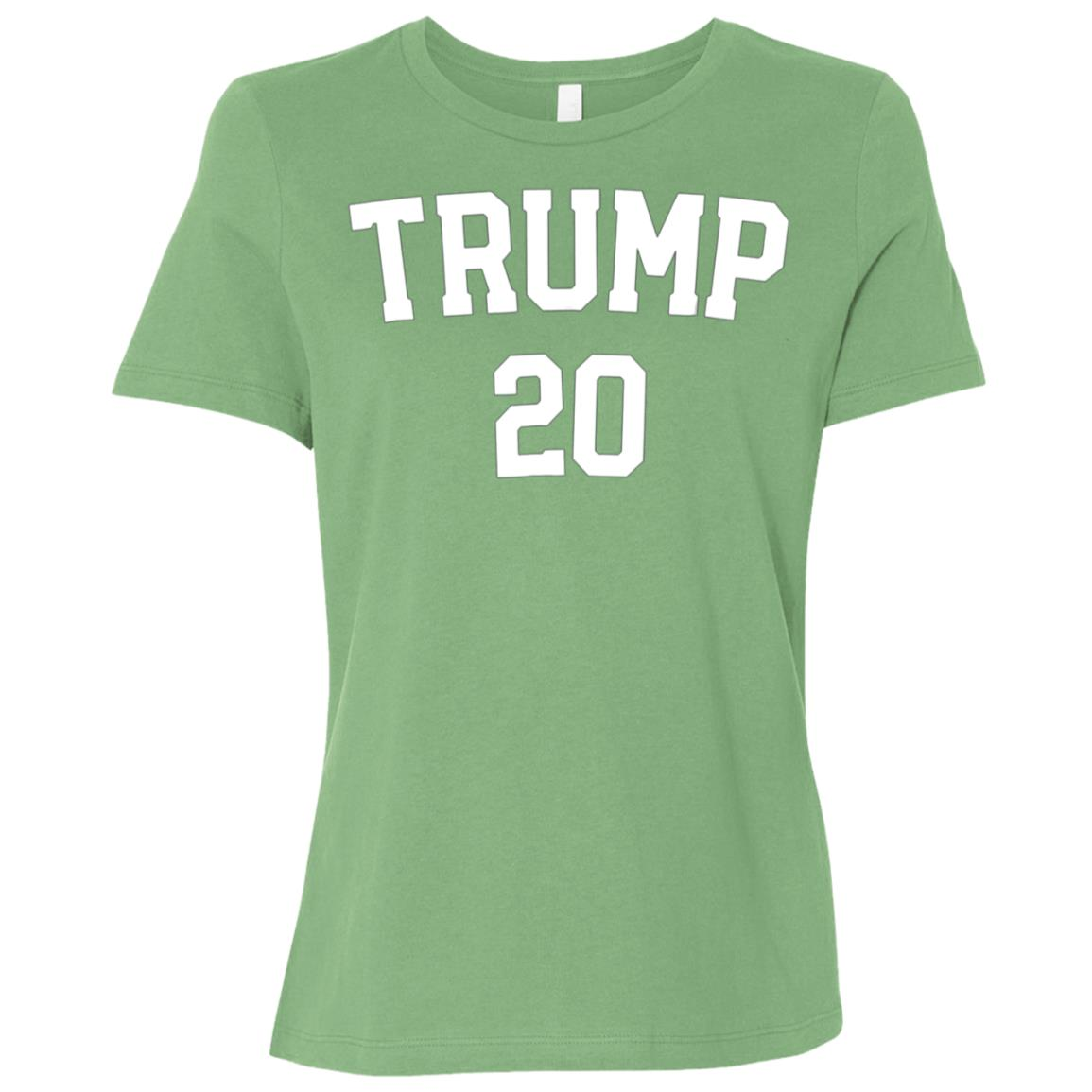 Trump 2020 Re-elect Make Usa Great Again Gop political Women Short Sleeve T-Shirt