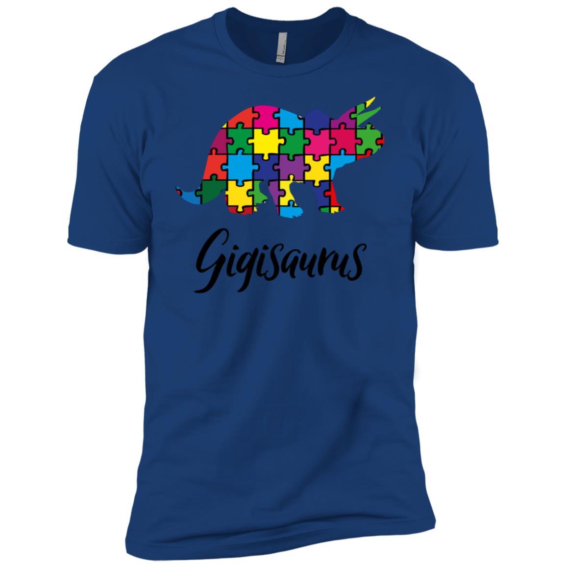 Womens Autism Gigi Awareness Day Autistic Gift For Best Men Short Sleeve T-Shirt