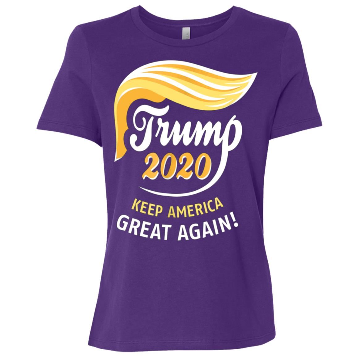 President Trump 2020 – KEEP AMERICA GREAT AGAIN! Women Short Sleeve T-Shirt