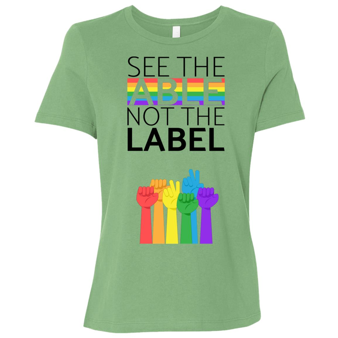 See The Able Not The Label Anti Bullying s Women Short Sleeve T-Shirt