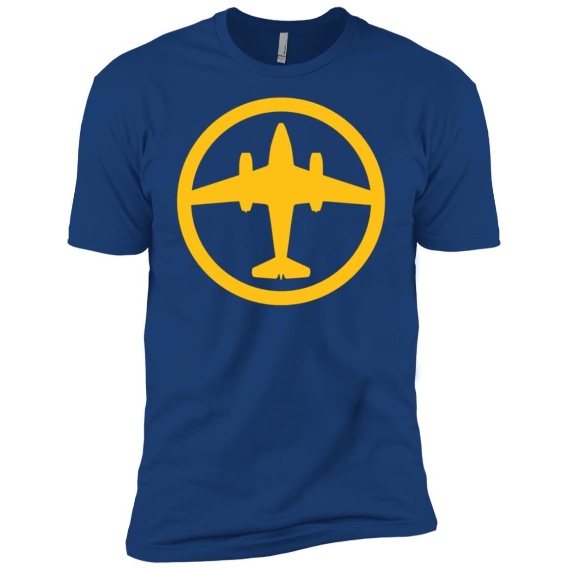 Me 262 Schwalbe (Yellow) World War II Airplane Men Short Sleeve T-Shirt