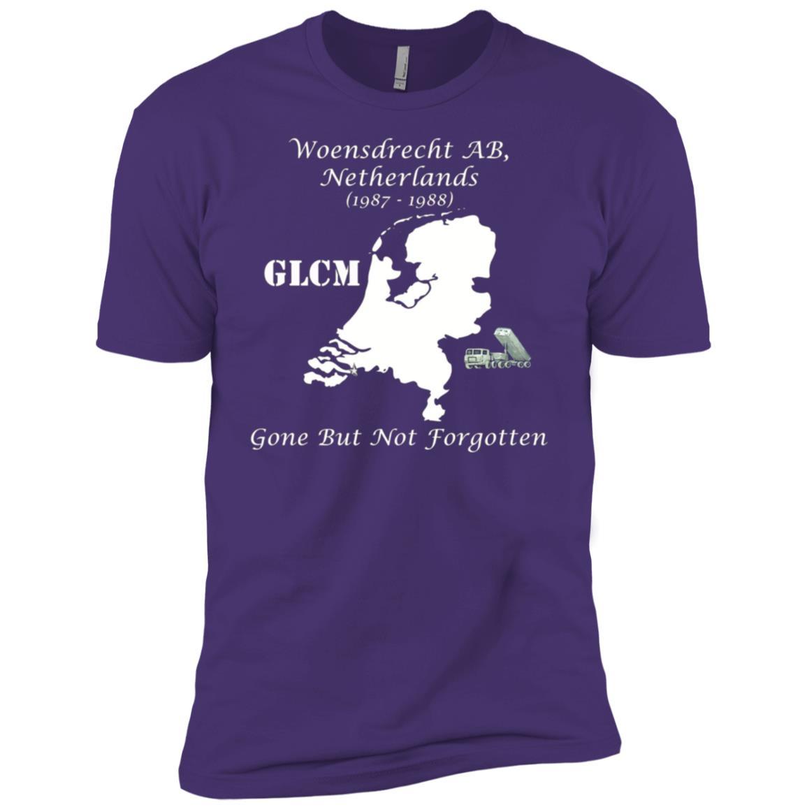 GLCM Woensdrecht AB Netherlands Gone But Not Forgotten Men Short Sleeve T-Shirt