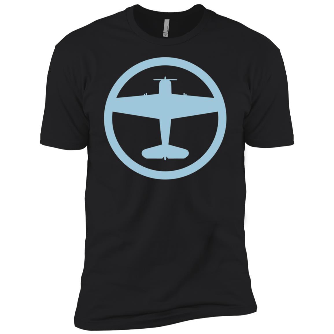 F6F Hellcat (Blue) USAF Navy World War II Airplane Men Short Sleeve T-Shirt