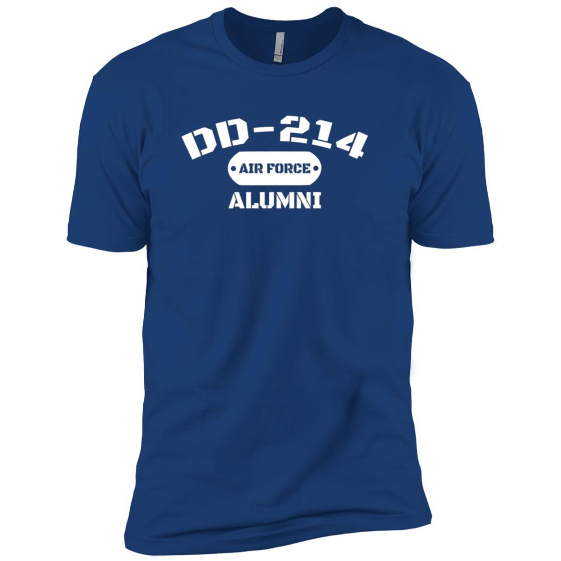 DD-214 US Air Force Alumni Men and Women Men Short Sleeve T-Shirt