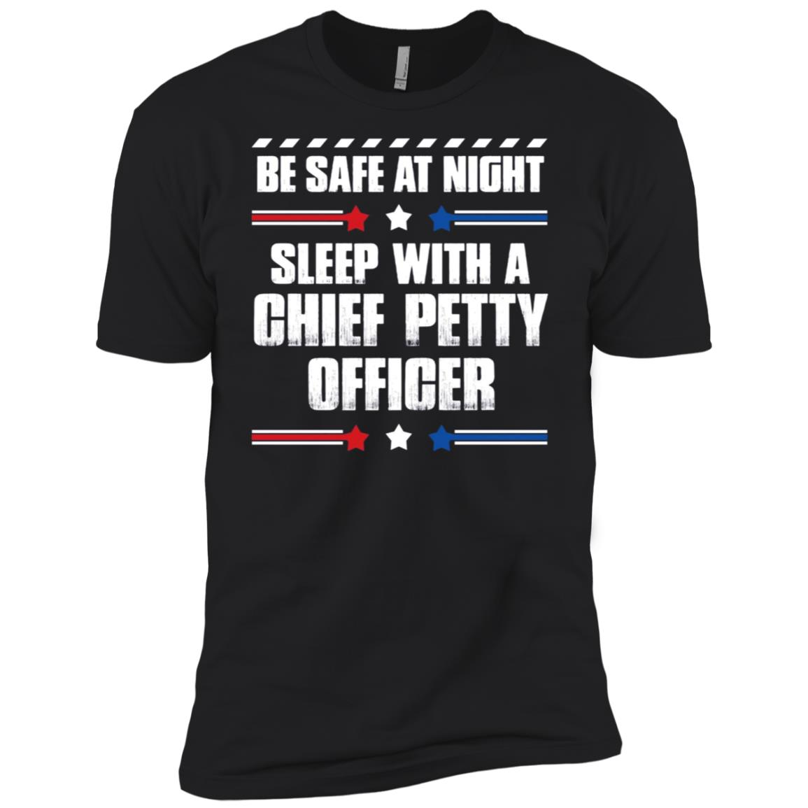Chief Petty Officer – Be Safe at Night! Men Short Sleeve T-Shirt