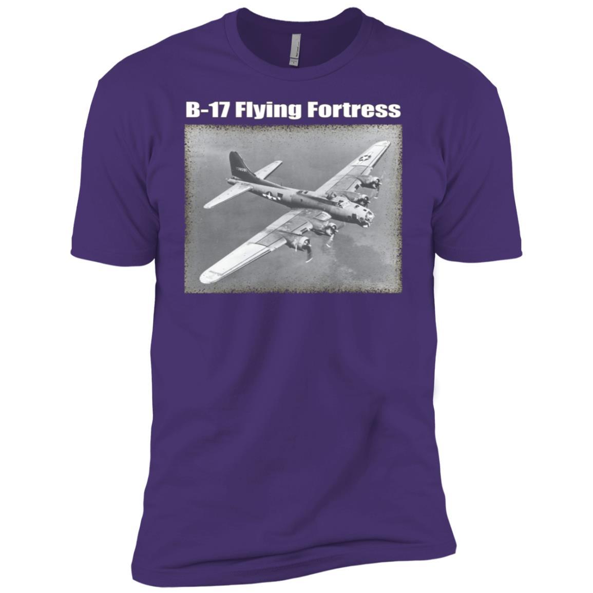 B-17 Flying Fortress Men Short Sleeve T-Shirt