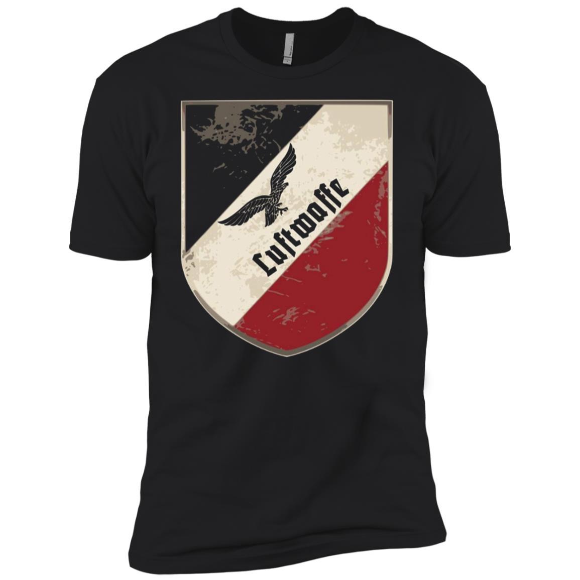 Aviator Luftwaffe air force german shield tricolor Men Short Sleeve T-Shirt