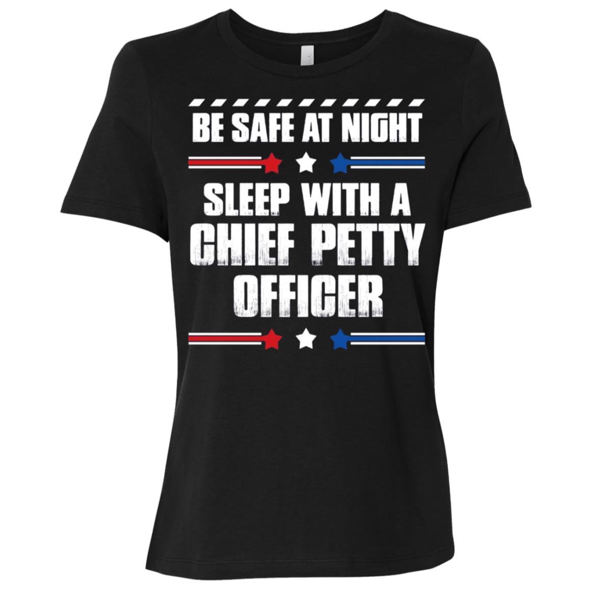 Chief Petty Officer – Be Safe at Night! Women Short Sleeve T-Shirt