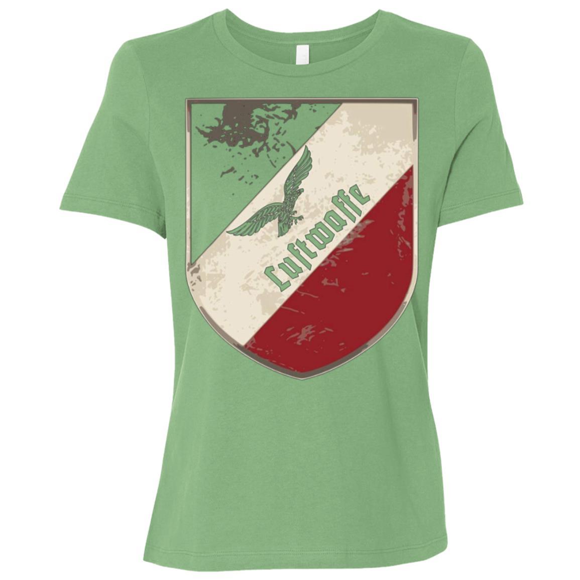 Aviator Luftwaffe air force german shield tricolor Women Short Sleeve T-Shirt