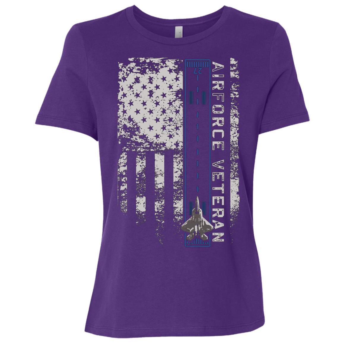 Air force Veteran Women Short Sleeve T-Shirt