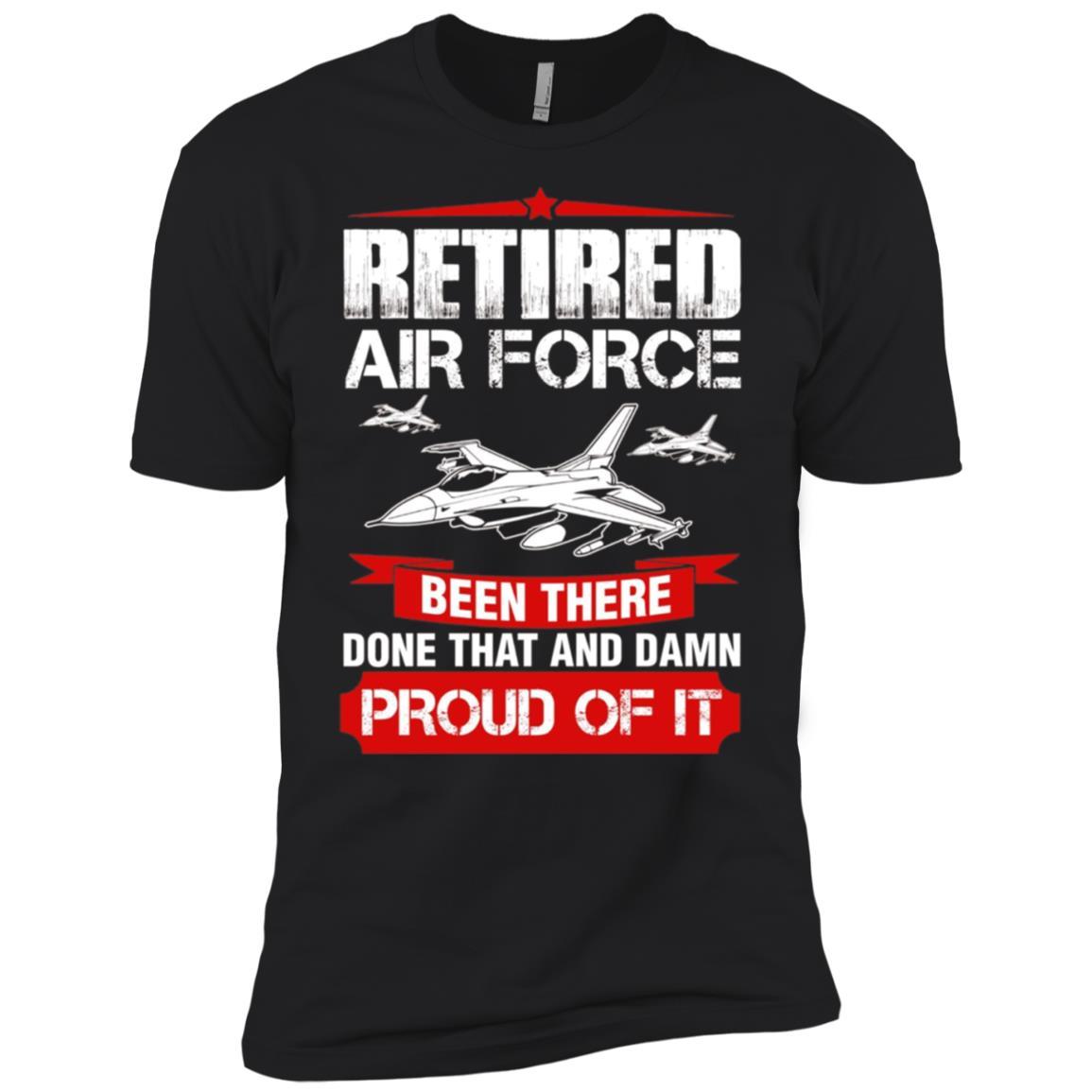 Retired Air Force Retirement Gift Men Short Sleeve T-Shirt