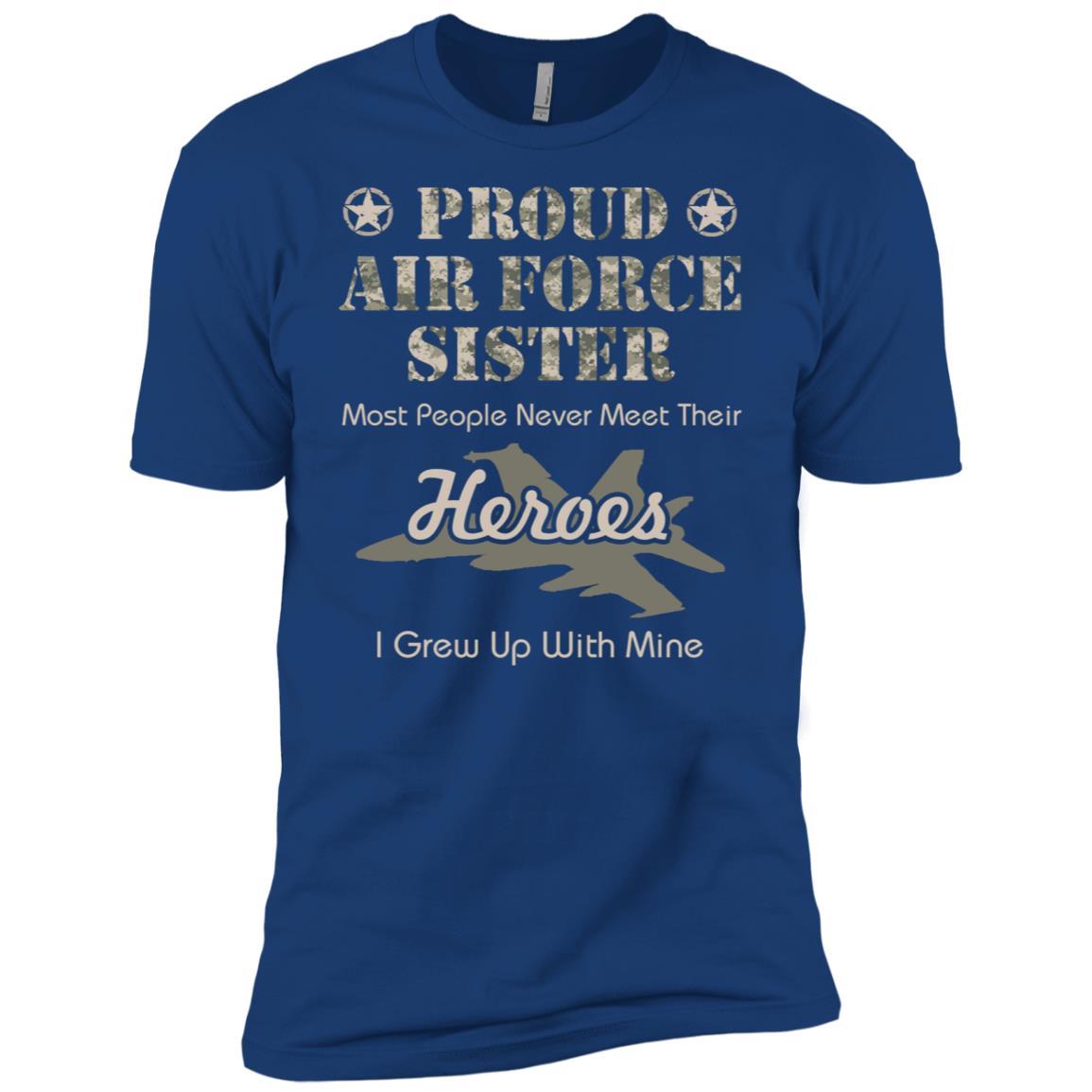 Proud Air Force Sister Men Short Sleeve T-Shirt
