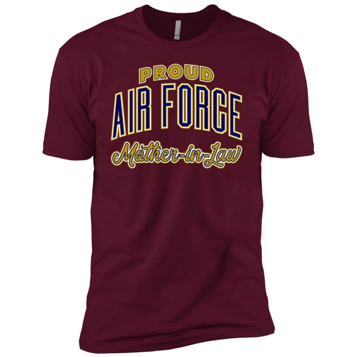 Proud Air Force Mother-in-Law for Women Men Short Sleeve T-Shirt