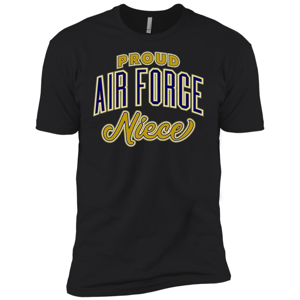 Proud Air Force Niece Men Short Sleeve T-Shirt