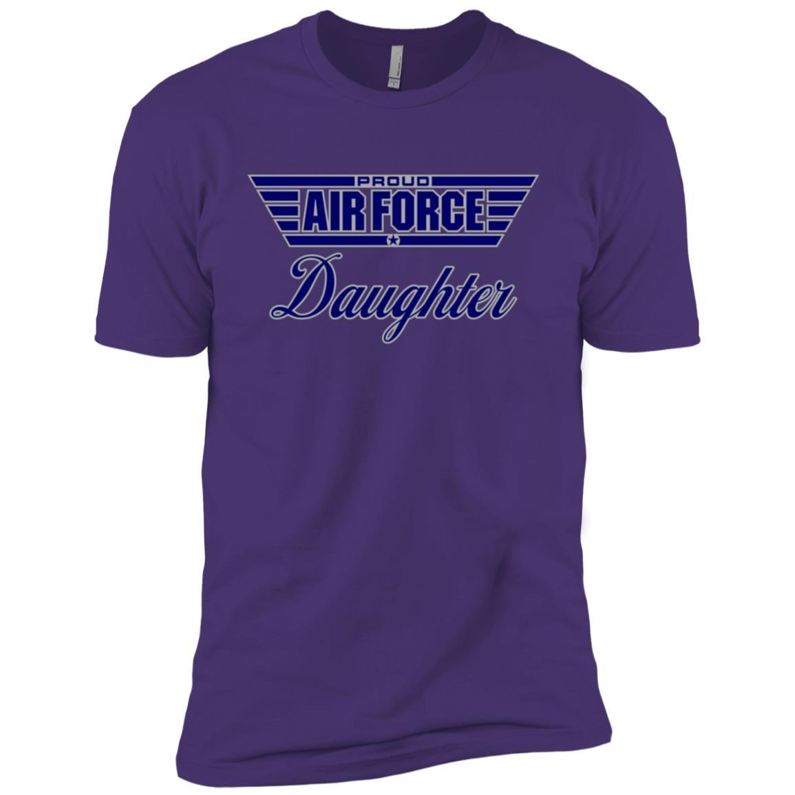 Proud Air Force Daughter Men Short Sleeve T-Shirt