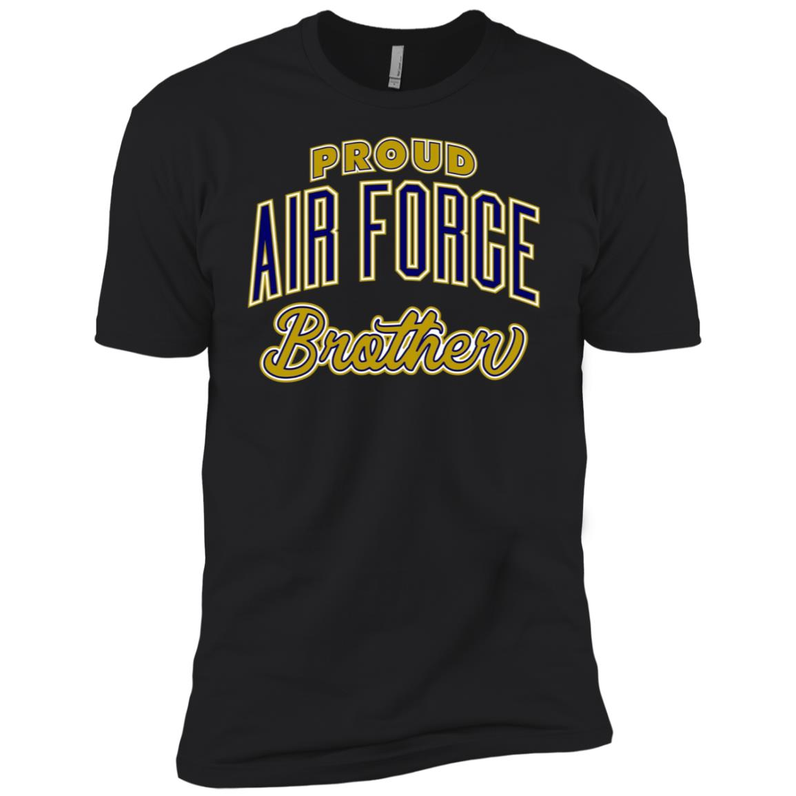 Proud Air Force Brother Men Short Sleeve T-Shirt