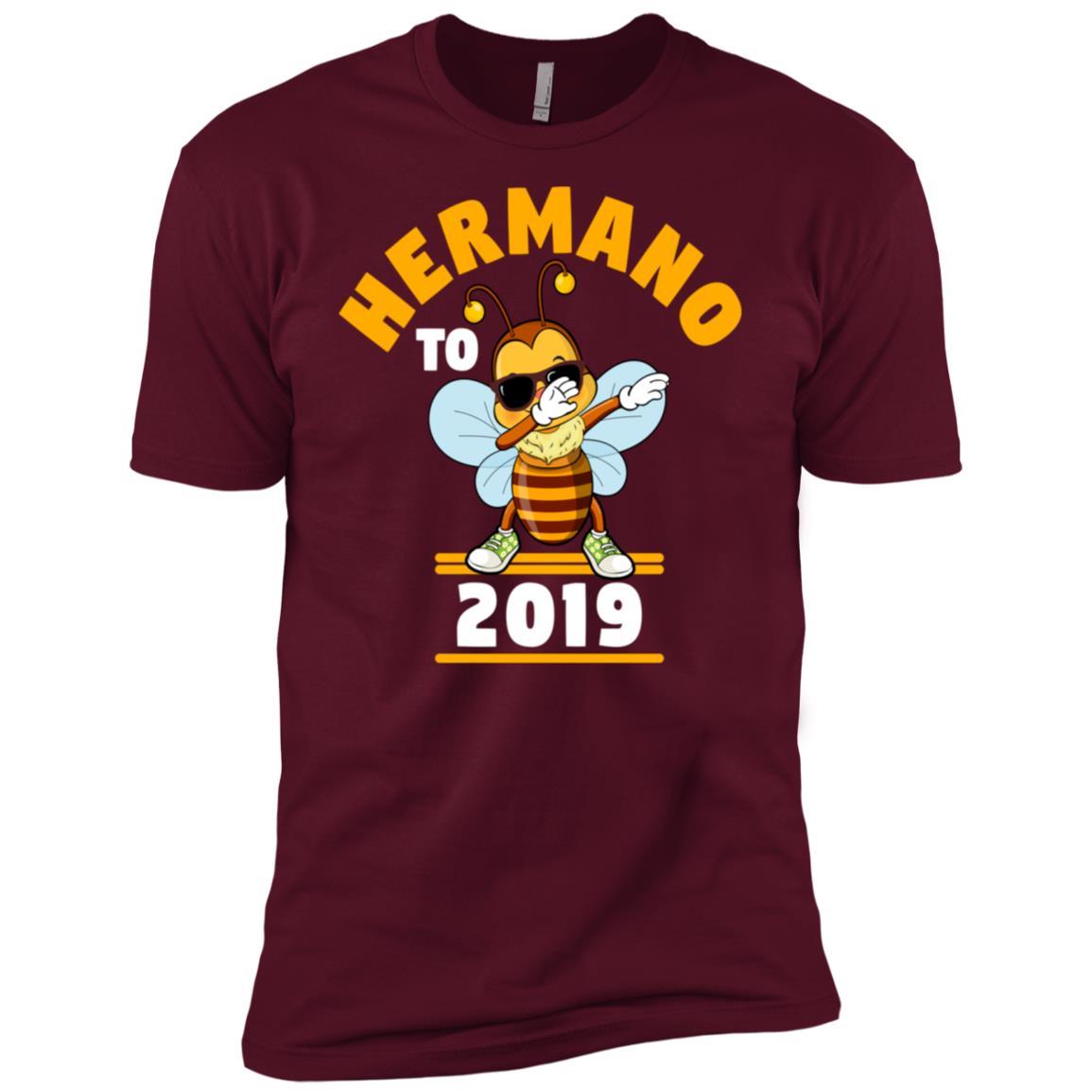 Brother To Be 2019 Hermano Dabbing Bee Men Short Sleeve T-Shirt