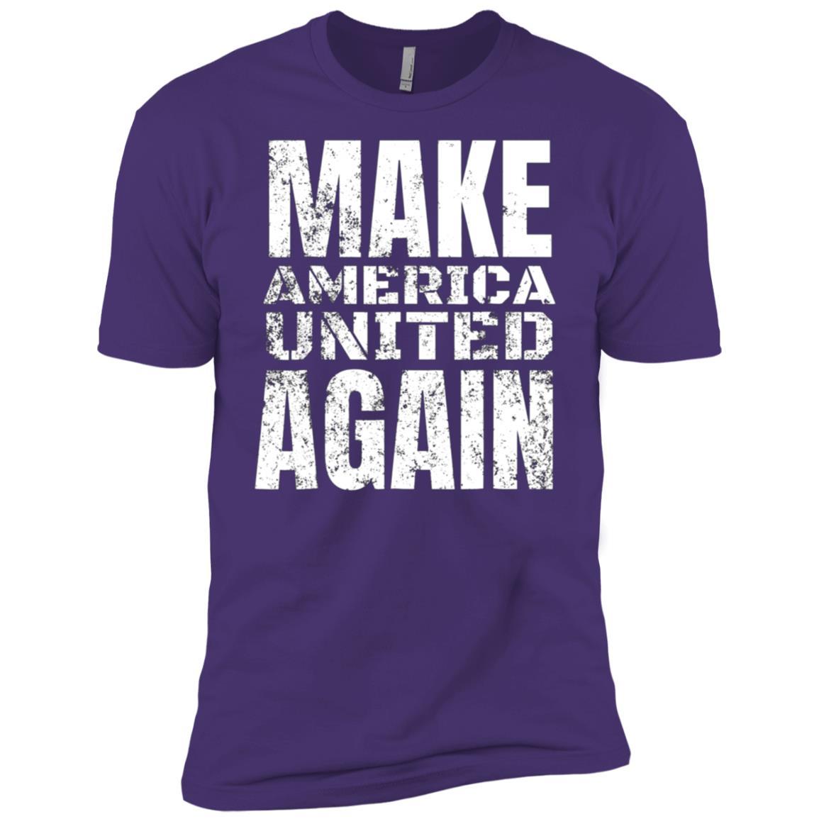 Unite The Families Make American United Again Tee Men Short Sleeve T-Shirt