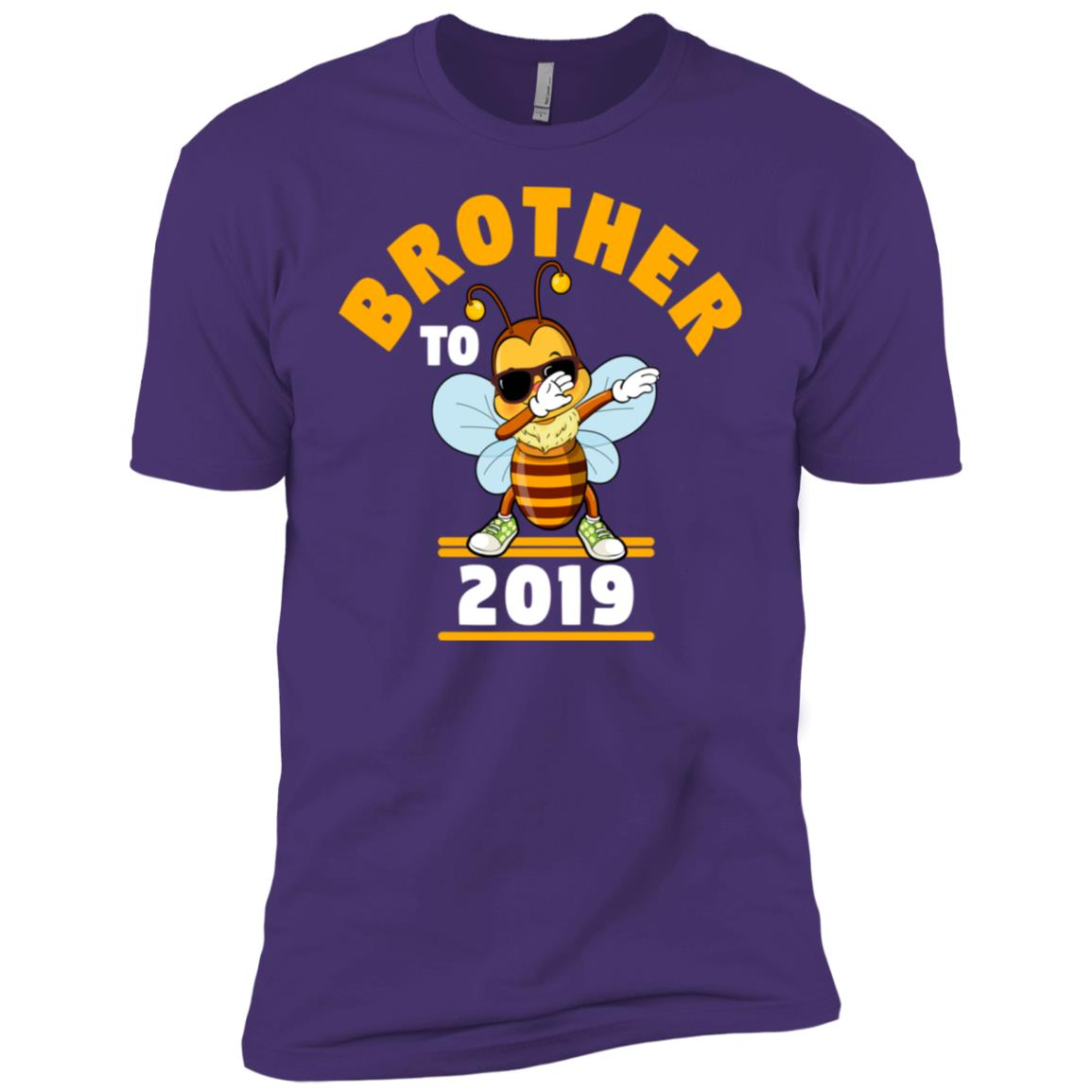 Brother To Be 2019 Dabbing Bee Men Short Sleeve T-Shirt