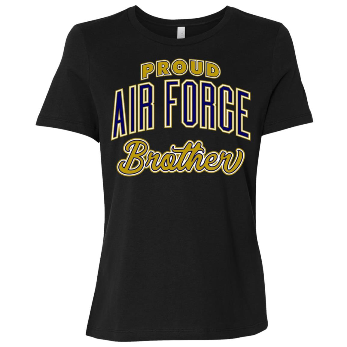Proud Air Force Brother Women Short Sleeve T-Shirt