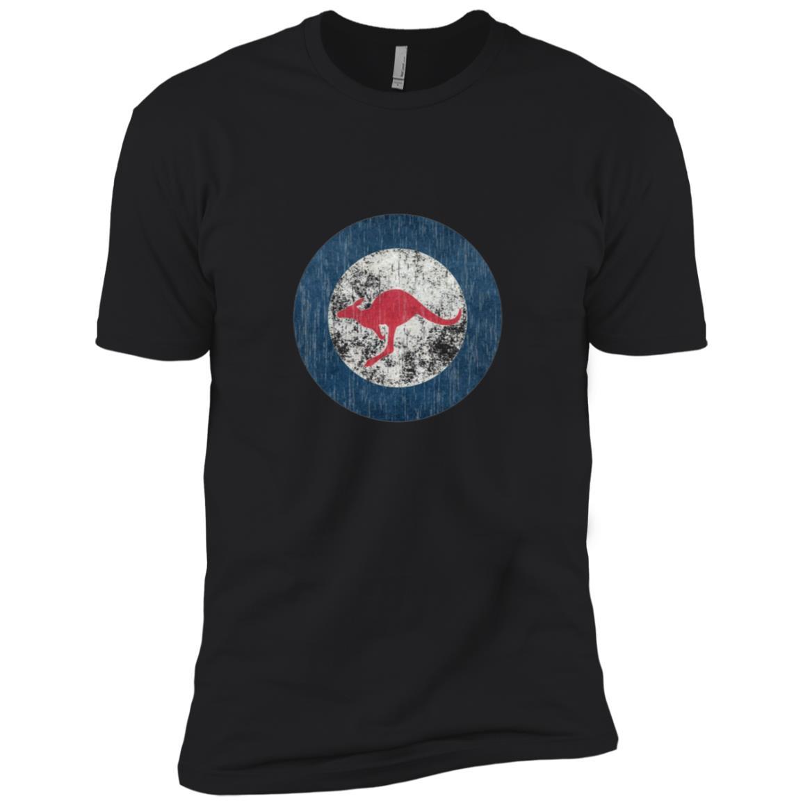 Vintage Roundel style flag Insignia of Australia Men Short Sleeve T-Shirt