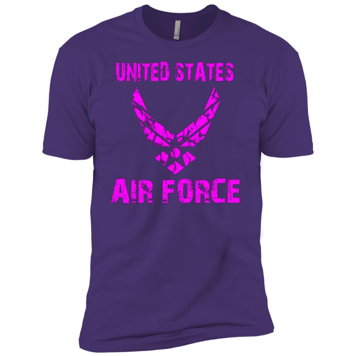 United States Air Force Original Pink Women's Men Short Sleeve T-Shirt