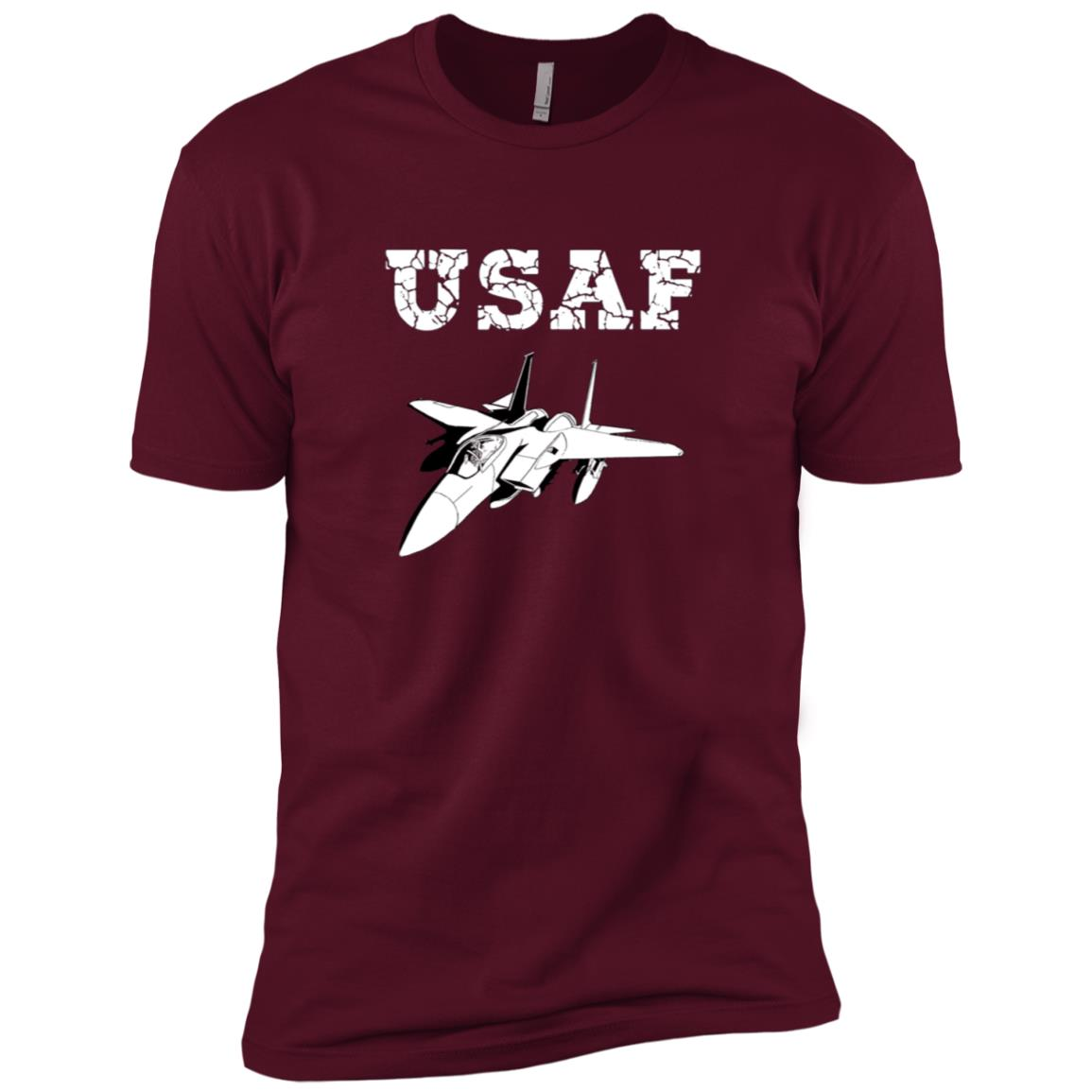 U.S. Air Force Original F-15 Men Short Sleeve T-Shirt