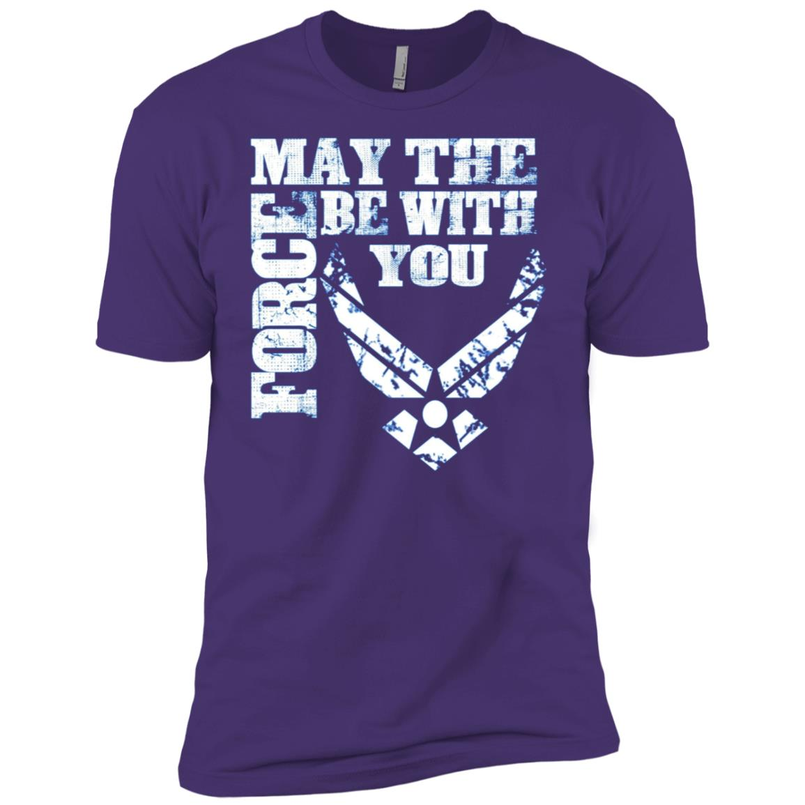 U.S. Air Force Funny Force Gift Logo USAF Men Short Sleeve T-Shirt