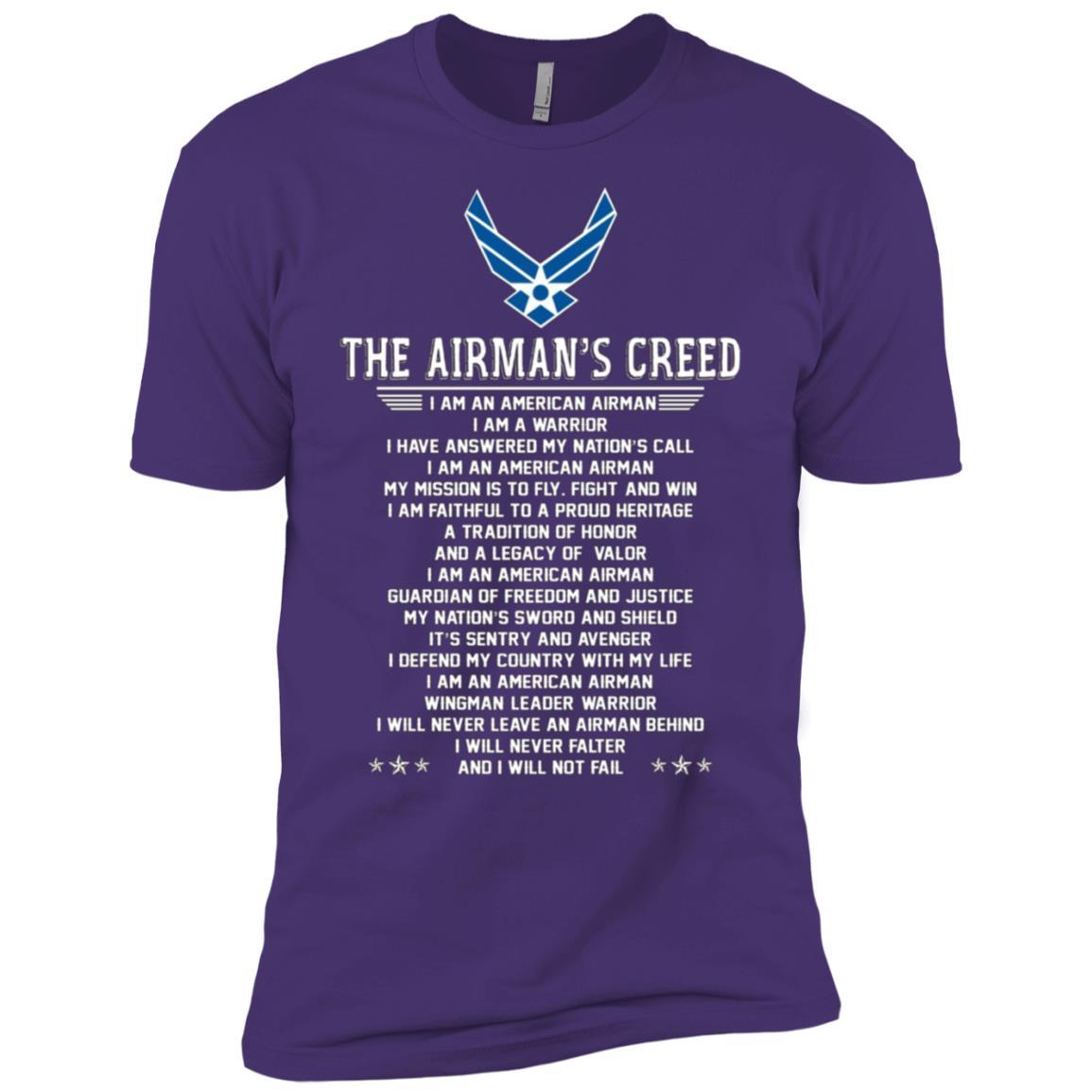 The Airman's Creed Men Short Sleeve T-Shirt