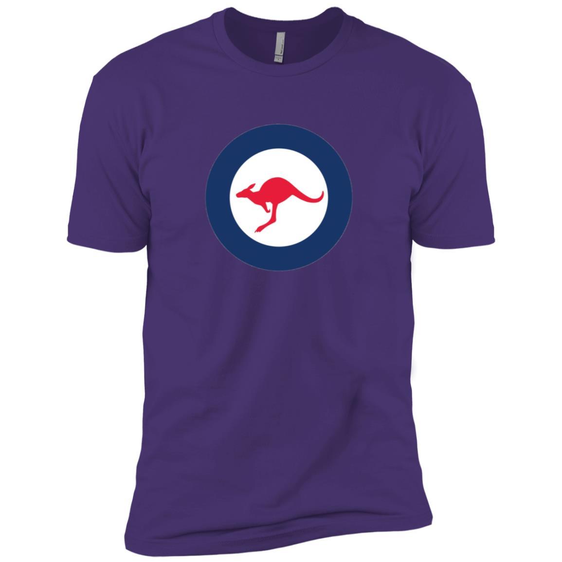 Stylized Vintage Roundel flag Insignia of Australia Men Short Sleeve T-Shirt