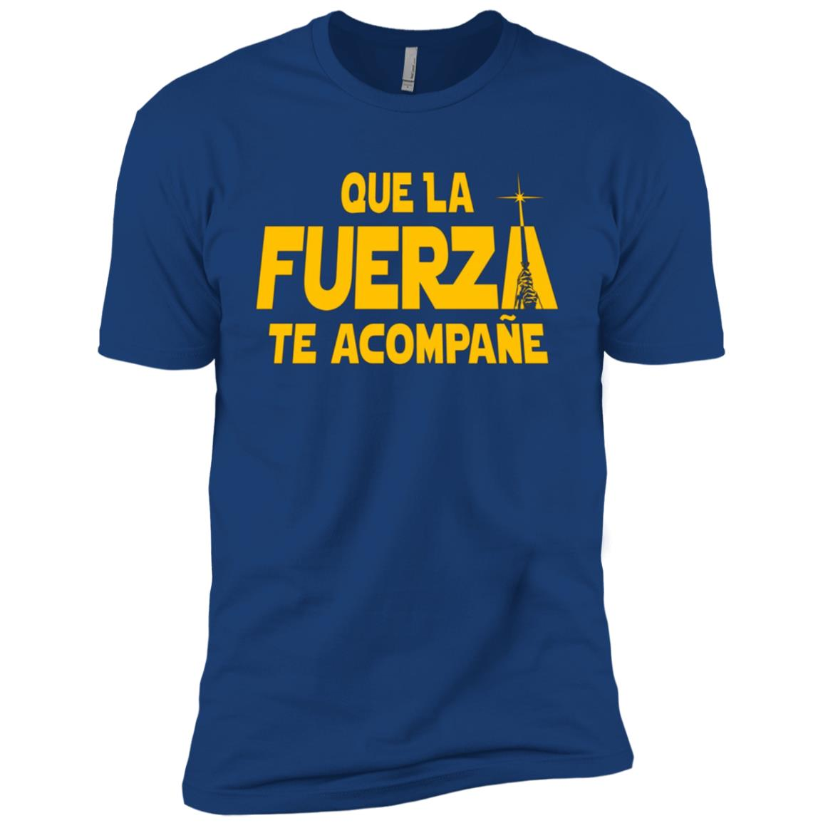 Star Wars May The 'FUERZA' Force Be With You Graphic Men Short Sleeve T-Shirt