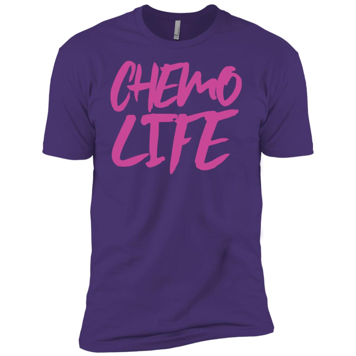 Chemo Life (Pink) Ls Men Short Sleeve T-Shirt