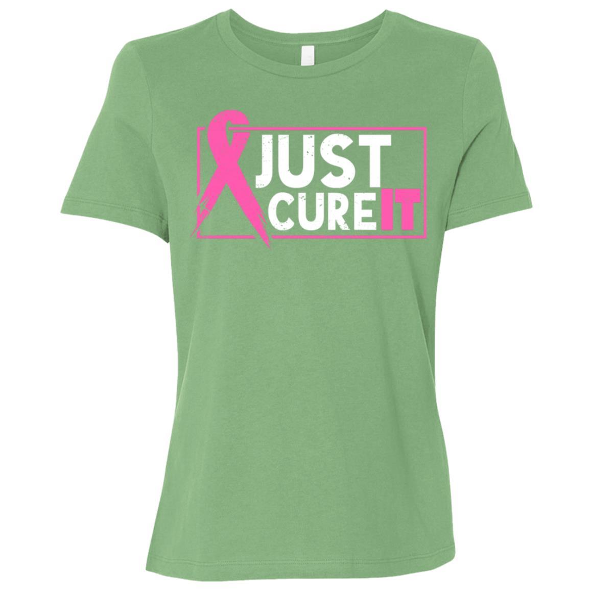 Just Cure It Women Short Sleeve T-Shirt