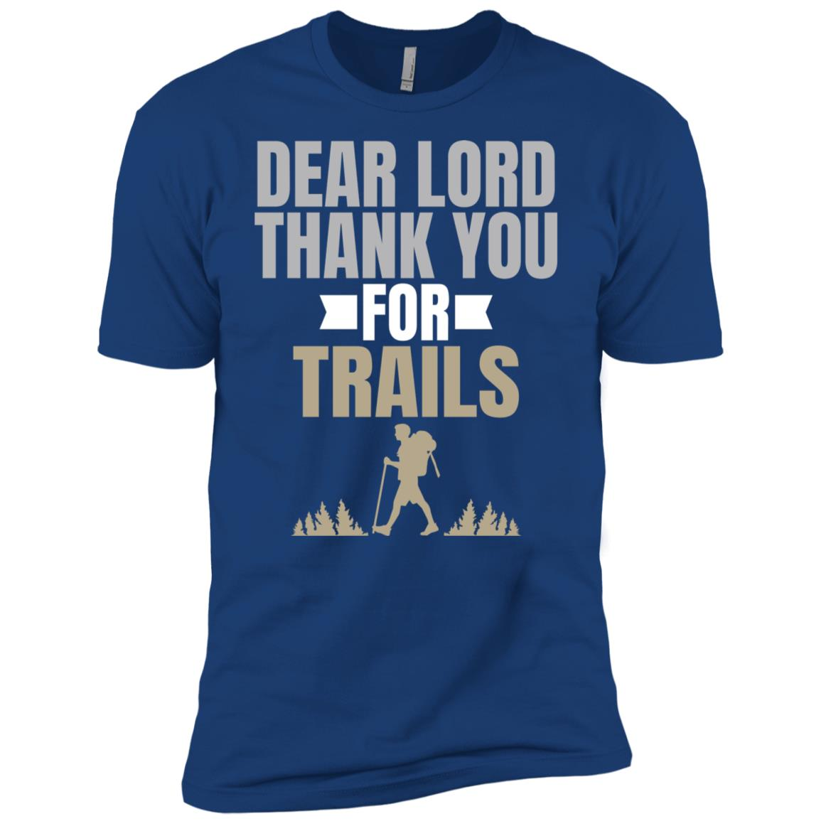 Dear Lord Thank You For Trails Woods Men Short Sleeve T-Shirt