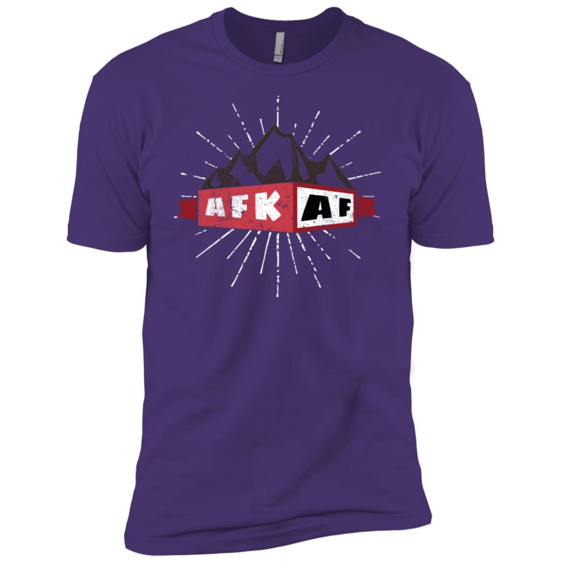 Afk Af (Away From Keyboard Af) – Funny Computer Geek Men Short Sleeve T-Shirt