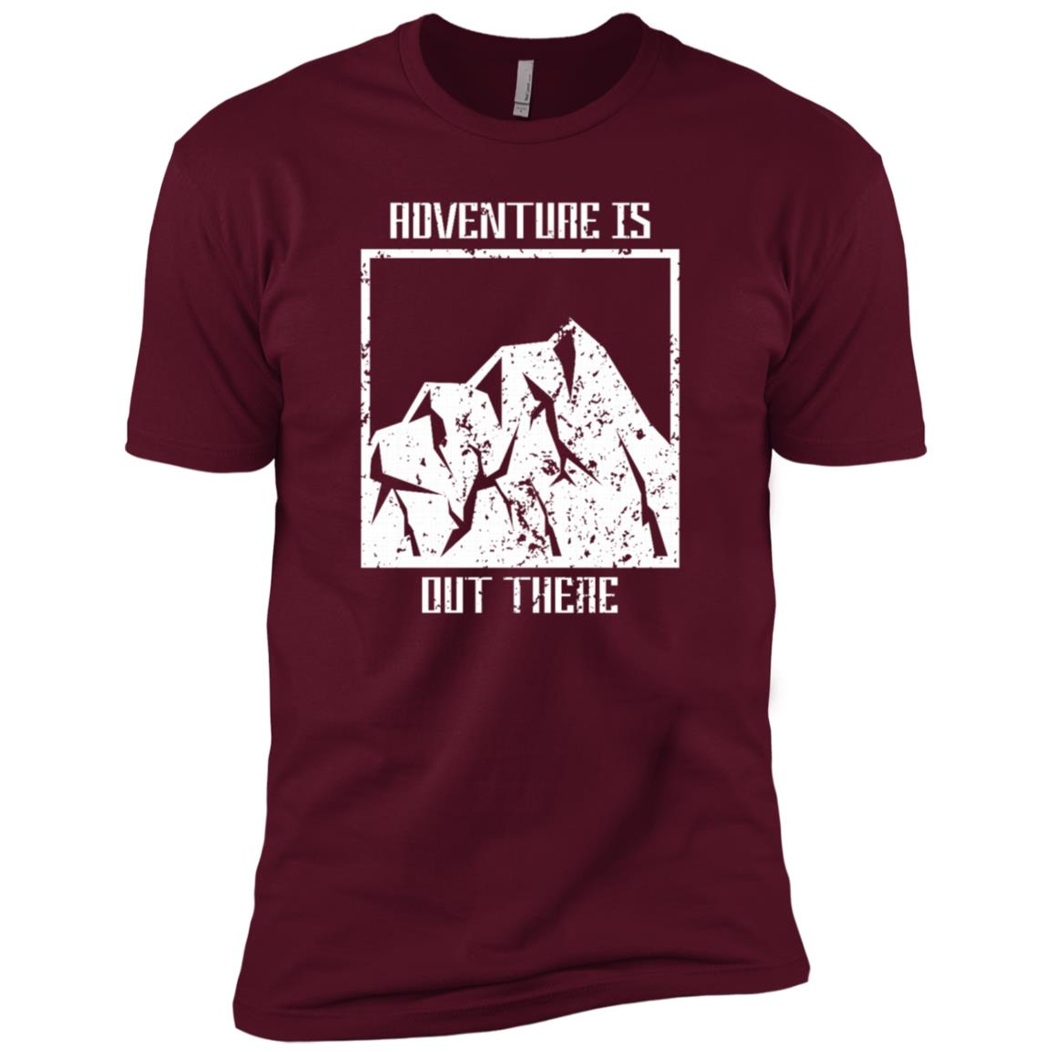 Adventure Is Out There Survival Gift Men Short Sleeve T-Shirt