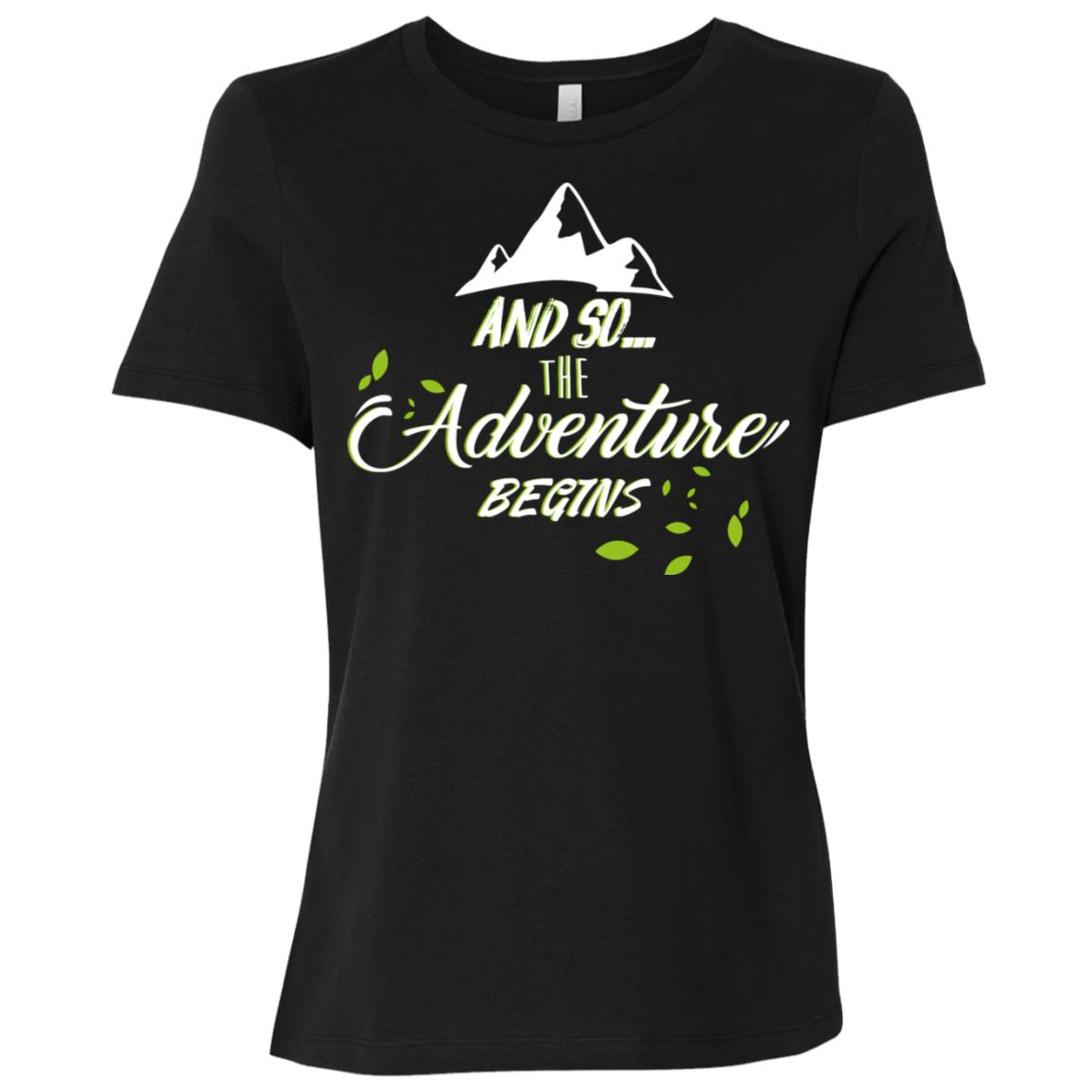 And So The Adventure Begins Women Short Sleeve T-Shirt