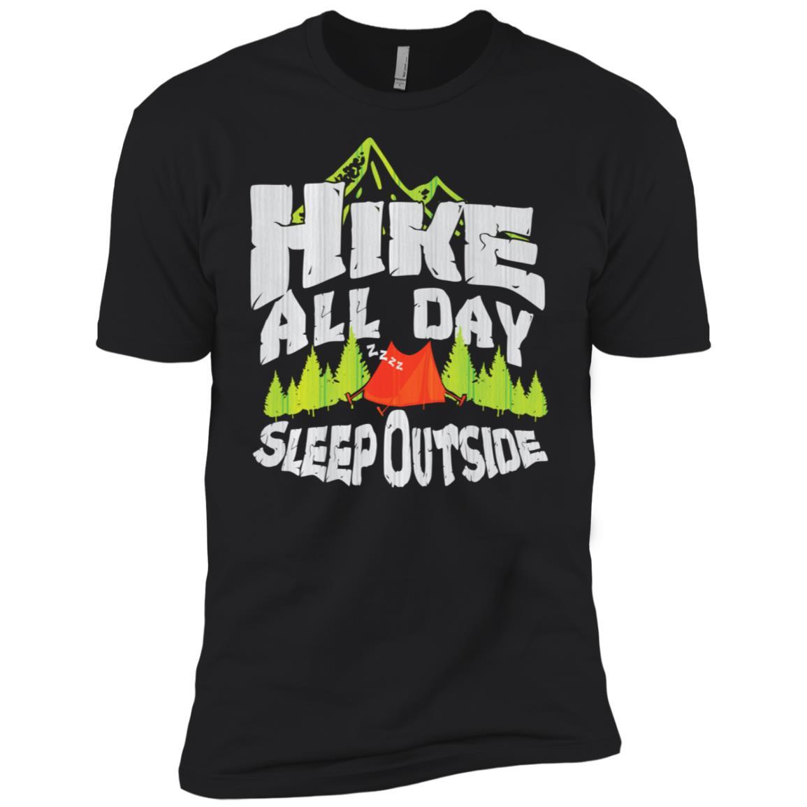 Forrest Hiker Camping Outdoor Nature Lover Gift Men Short Sleeve T-Shirt