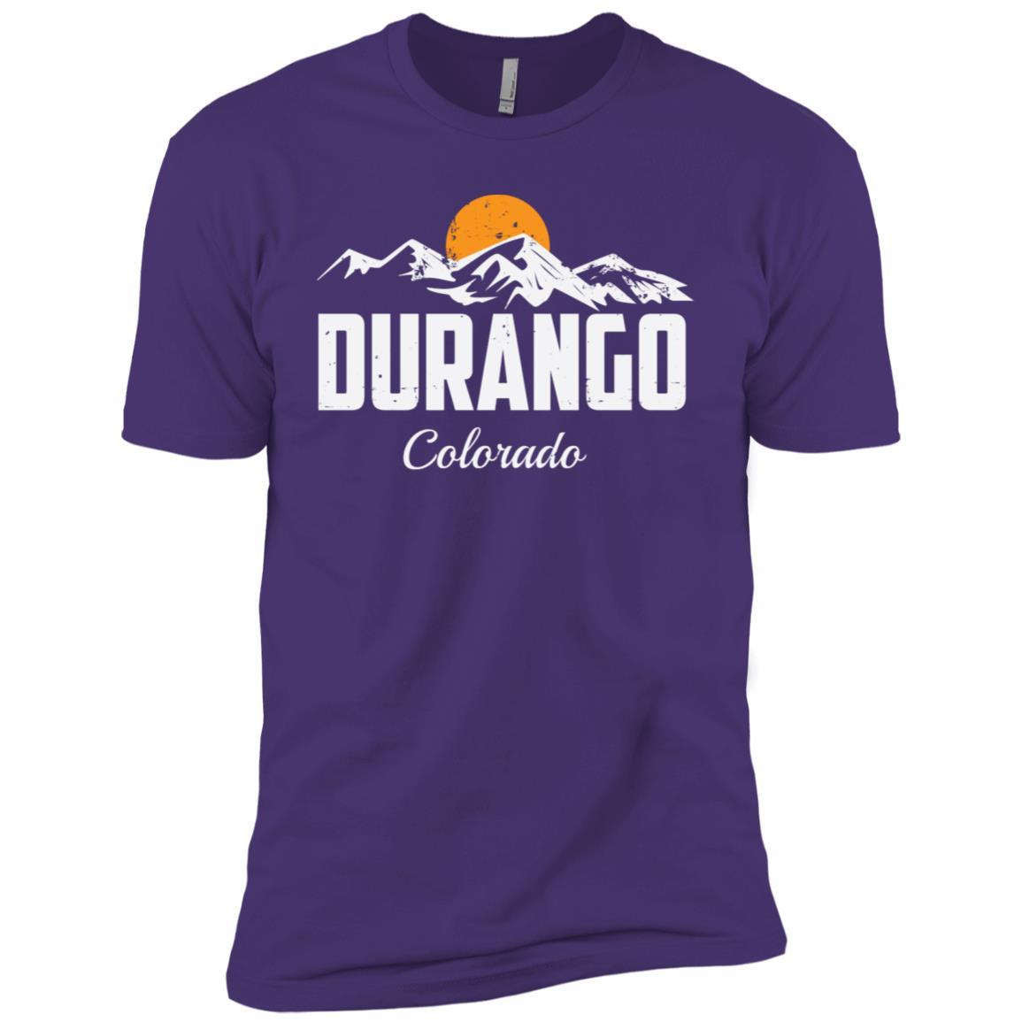 Durango Colorado Mountain Hiking Men Short Sleeve T-Shirt