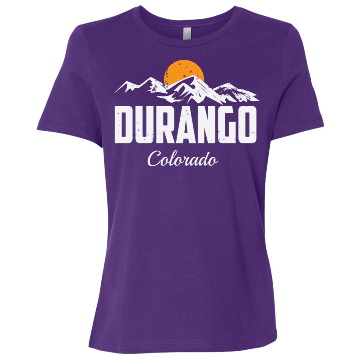 Durango Colorado Mountain Hiking Women Short Sleeve T-Shirt