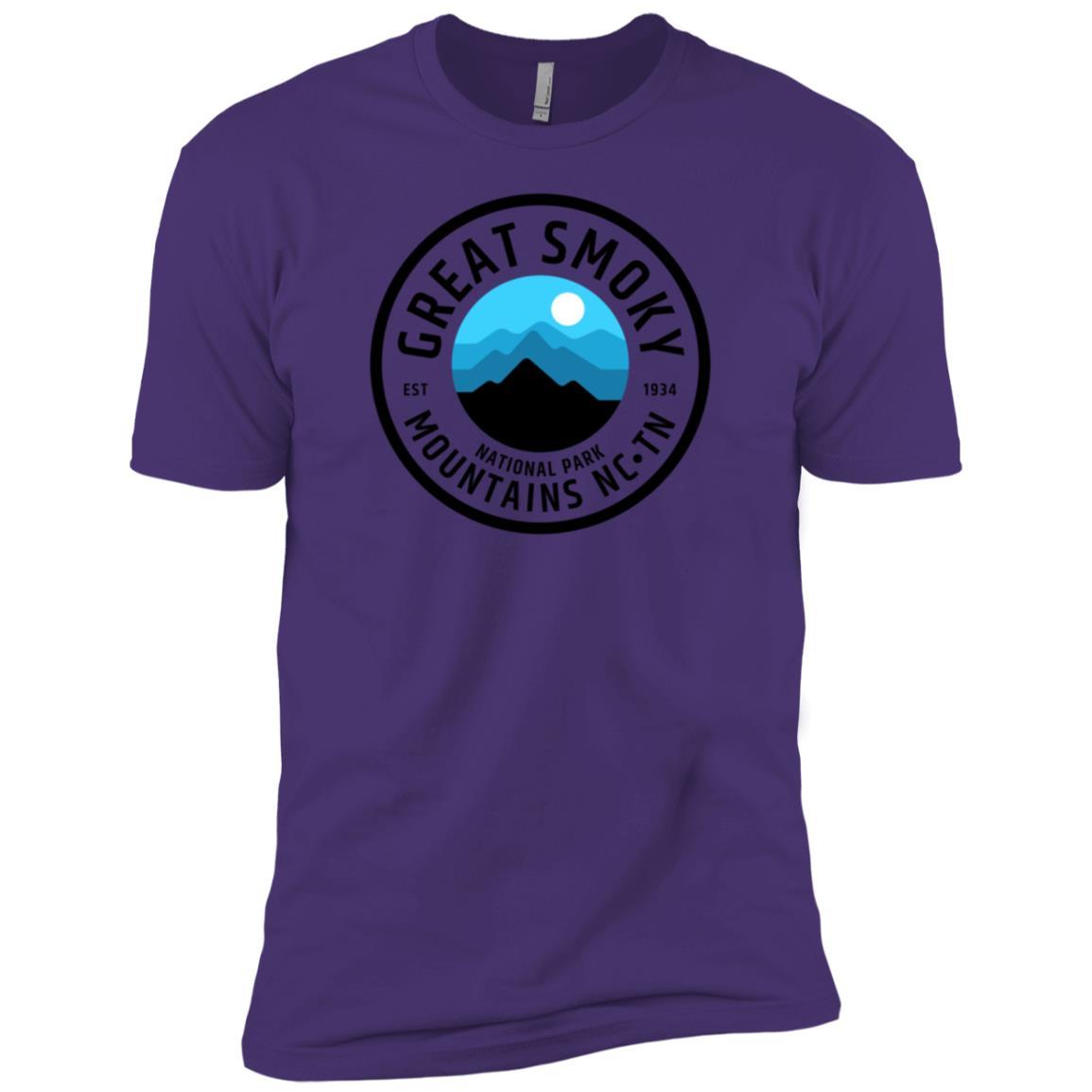 Great Smoky Mountains Men Short Sleeve T-Shirt
