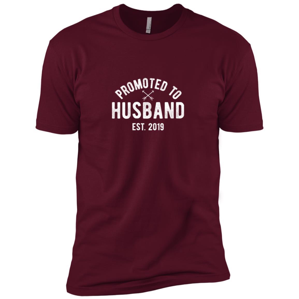 New Husband 2019 Getting Married Groom Gift Tee Men Short Sleeve T-Shirt