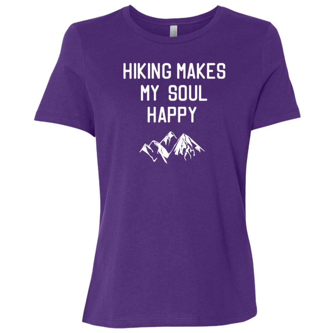 Hiking Makes My Soul Happy Women Short Sleeve T-Shirt