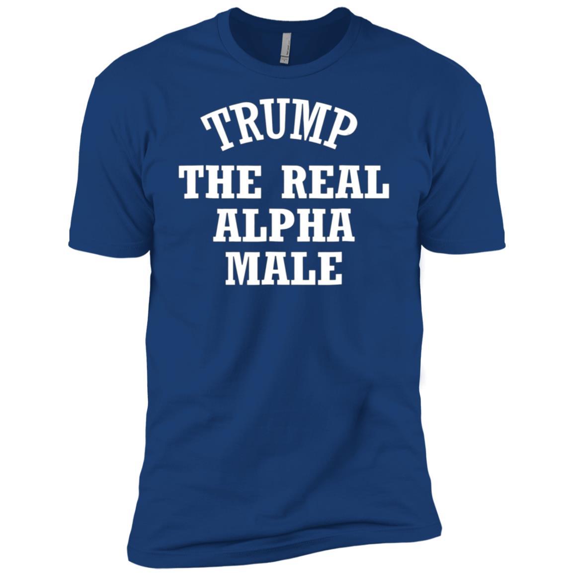 Trump Real Alpha Male 2020 President Election Men Short Sleeve T-Shirt