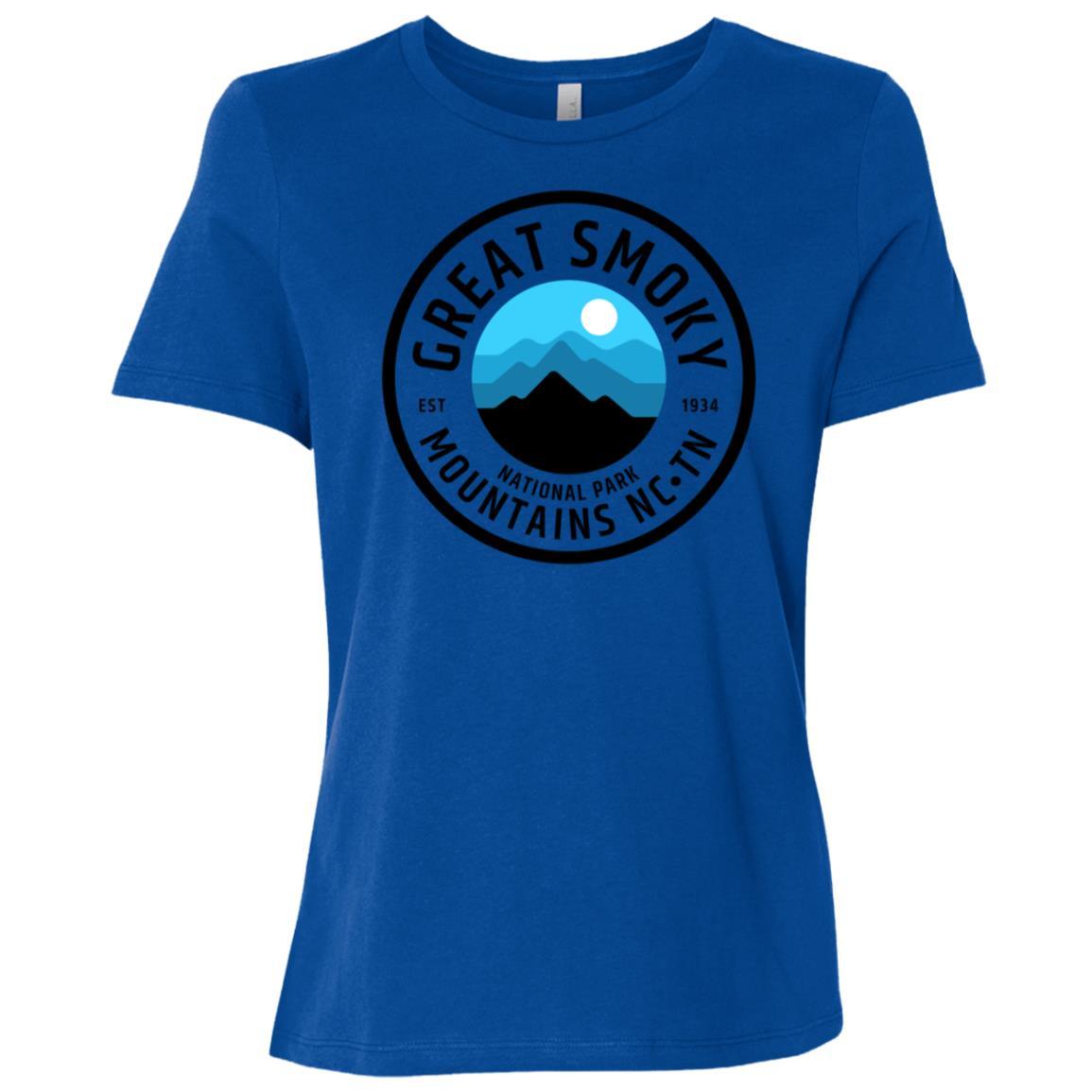 Great Smoky Mountains Women Short Sleeve T-Shirt